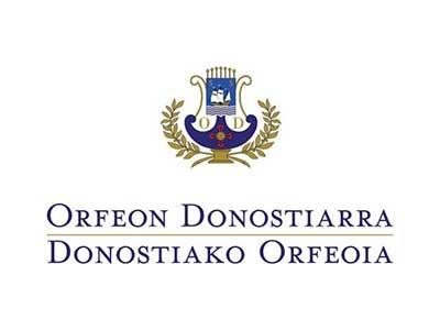 ORFEÓN DONOSTIARRA Patrocinador Premio SDV Elkartea