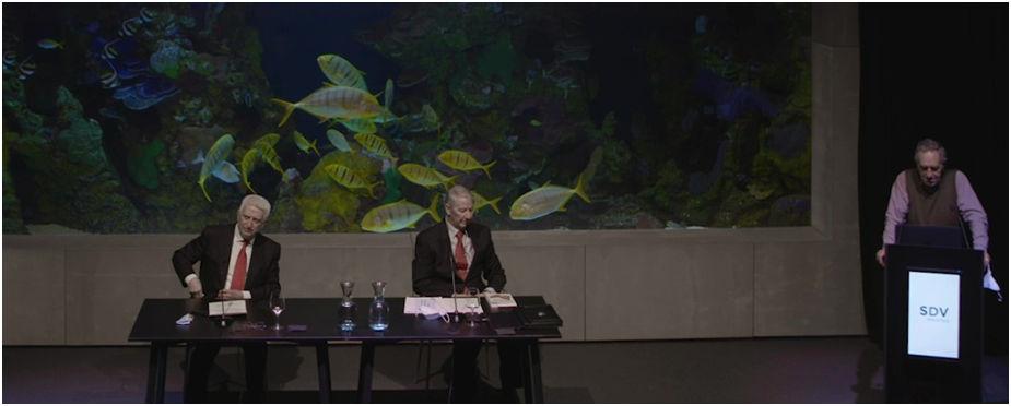 conferencia acto de entrega II Premios SDV Elkartea